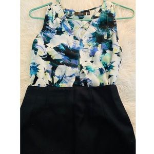 Apt 9-Floral sleeveless blouse